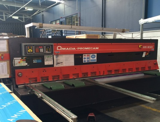 Amada Gs 630 Guillotines Used Sheet Metal Machinery By