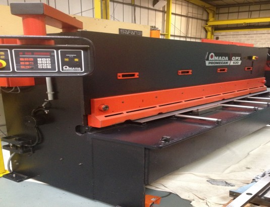 Amada Gpx 630 Stock No 01680 Guillotines Used Sheet